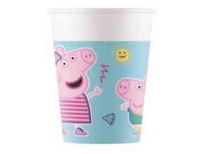Kompostovateľné poháre - Peppa Pig 8 ks
