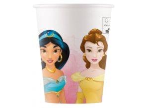 Kvalitné kompostovateľné poháre - Princezné 8 ks