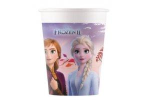 Kompostovateľné poháre - Frozen II 8 ks