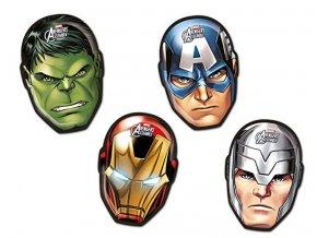 Taniere v tvare Avengers - mix vzorov 4 ks