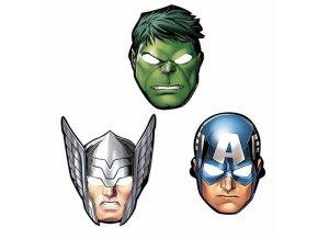 8 pz mascherine avengers assemble 360084 55