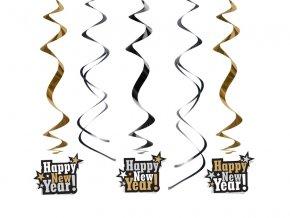 Visiaca dekorácia Happy New Year!