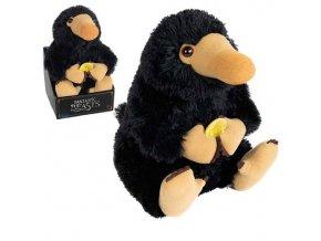 Malá plyšová hračka - Fantastické zvery (Niffler)