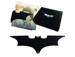 Skladací klip na peniaze - Batarang (čierny)