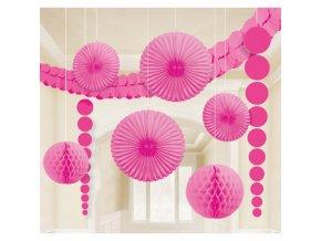 Dekoračný set ružový