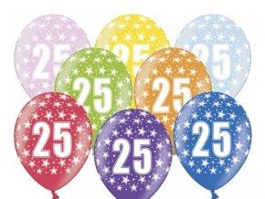 Balónik s čísom 25