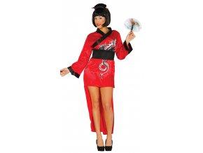 Dámsky kostým - Čínsky drak