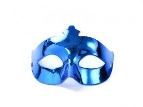 Party maska modrá