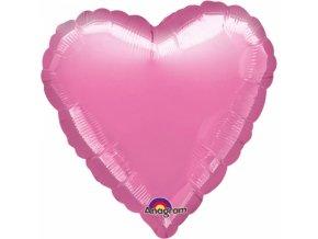 Fóliový balón Srdce levanduľa