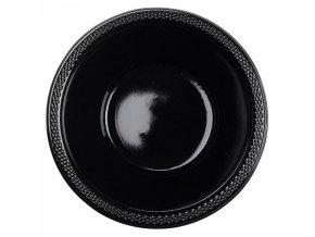 Misky plastové čierne