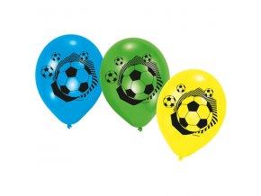 Balóniky Futbal farebny