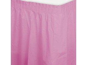 Banketová sukňa ružová 2