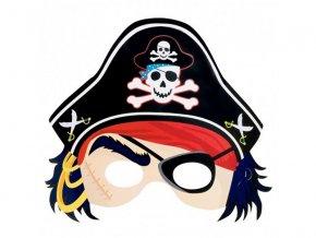 Pirátska maska