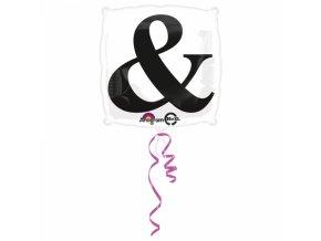 Fóliový balón symbol &