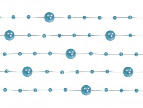 Perlové girlandymodra1 heliumkingsk