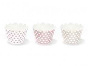 Košíčky na muffiny - Sladkosti 6 ks