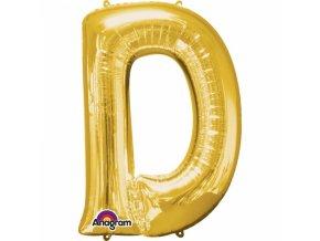 Balon pismeno D