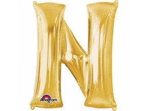 Balon pismeno N