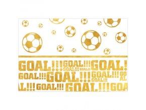 obrus futbal zlat&