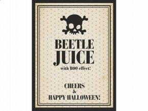 Etiketa Beetle juice