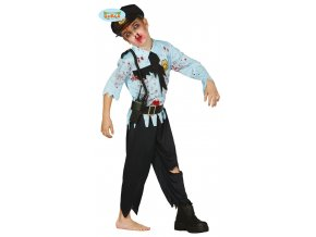 Detsky kostym zombie policajt
