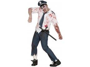 Kostym zombie policajt