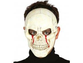 Maska Lebka s krvou