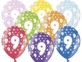 Lacny balon cislo 9