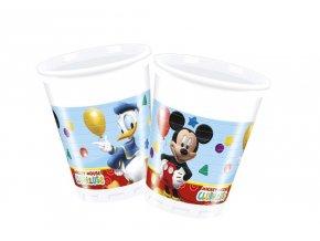 Poháre párty Mickey 8 ks