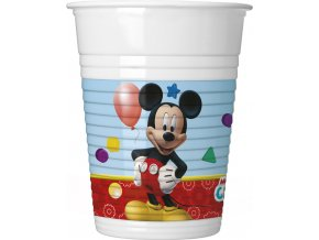 PLAYFUL MICKEY PLASTIC CUP ICON
