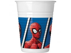 Poháre párty so Spidermanom 8 ks