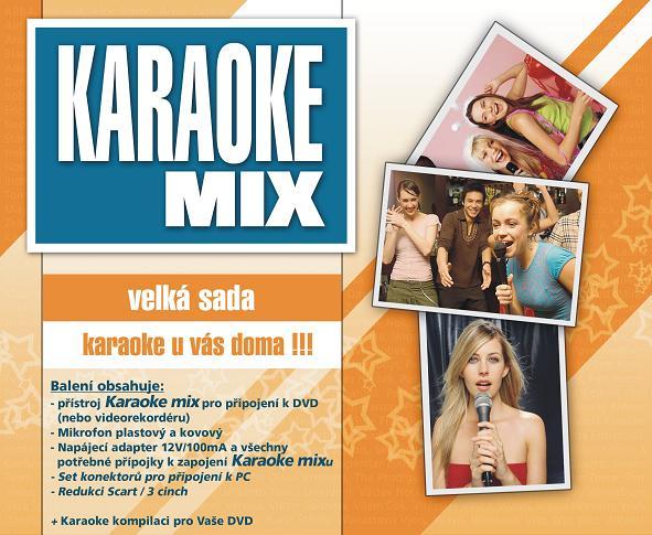 HeliumKing Karaoke MIX - veľká sada