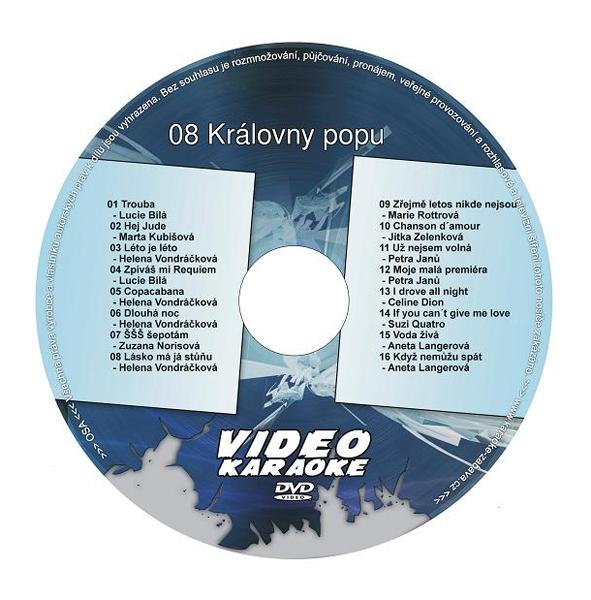 HeliumKing DVD 08 Kráľovny popu