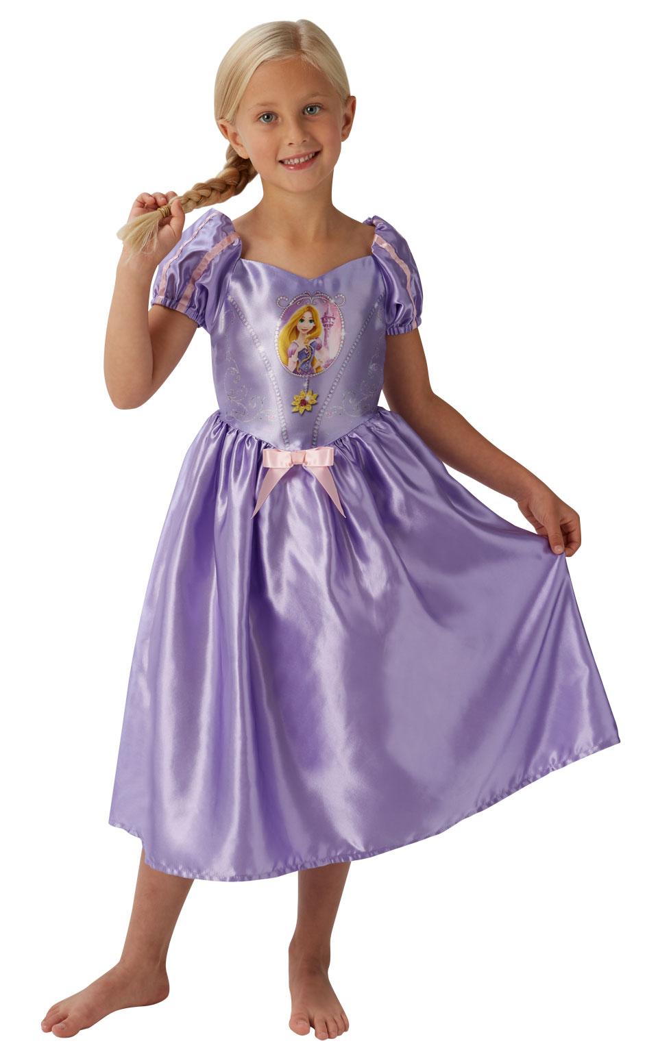 Rubies Kostým Rapunzel - Zlatovláska - detský Veľkosť - deti: S - Výška 95-105 cm