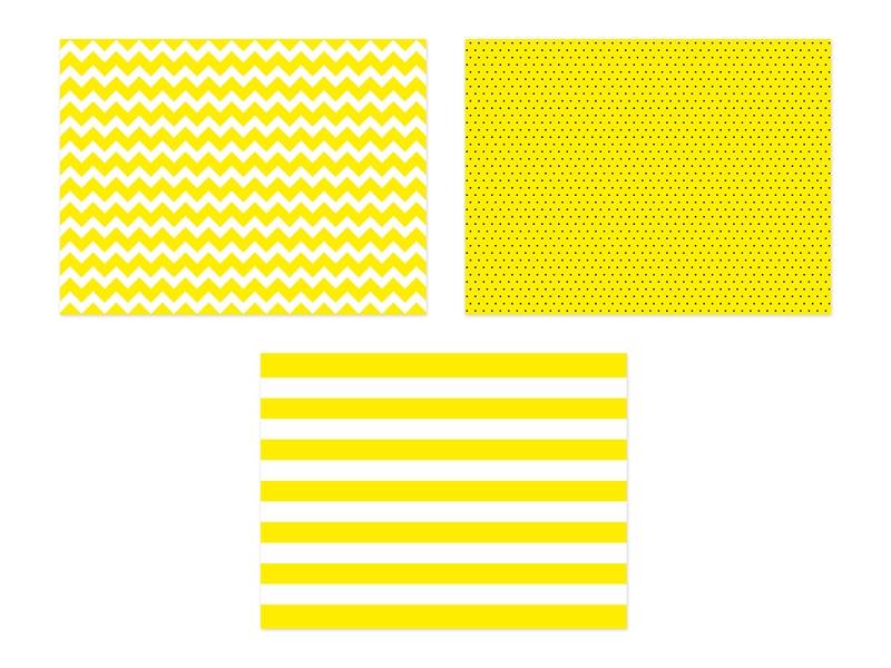 PartyDeco Prestieranie papierové žlté 40 x 30 cm 6 ks
