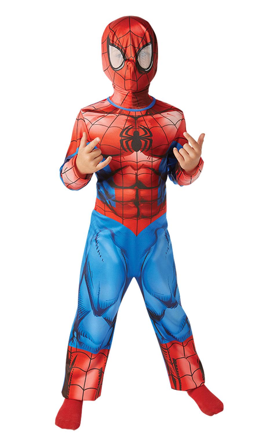 Rubies Detský kostým Spiderman Classic Veľkosť: M