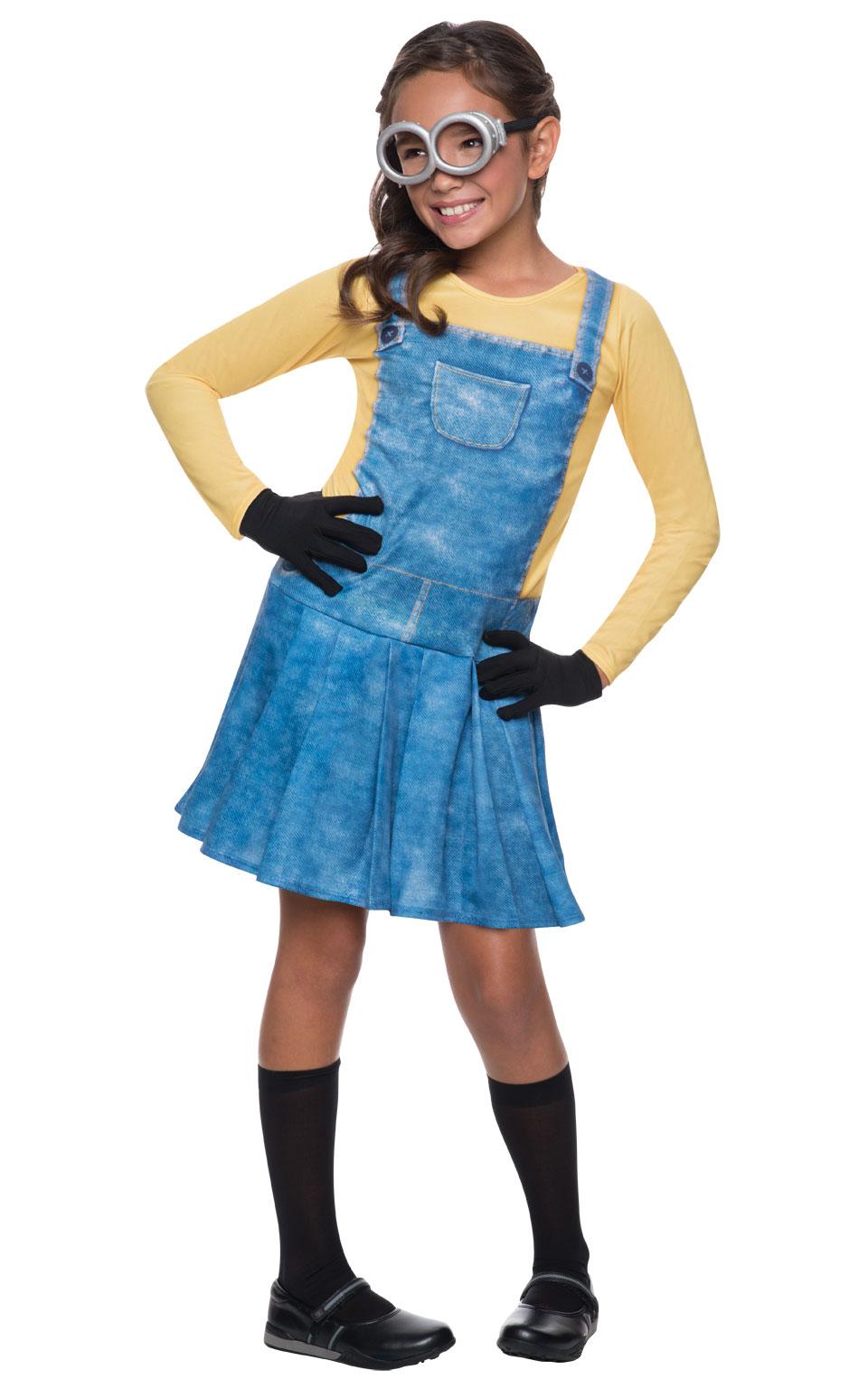 Rubies Detský kostým Mimoňka Veľkosť - deti: L - Výška 125-135 cm