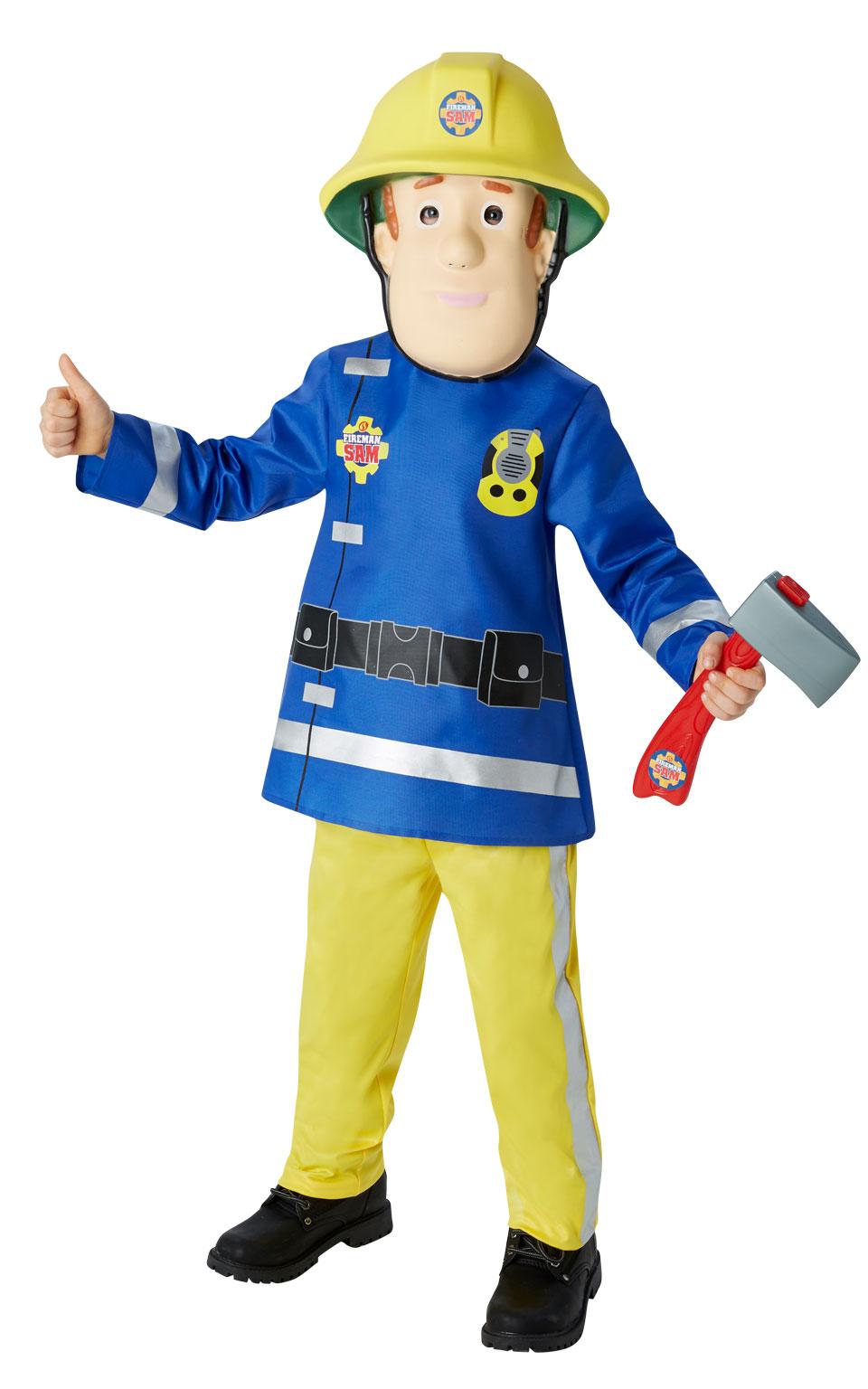 Rubies Detský kostým Požiarnik Sam Veľkosť: S