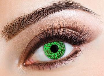 Eyecasions Šošovky Green Tint