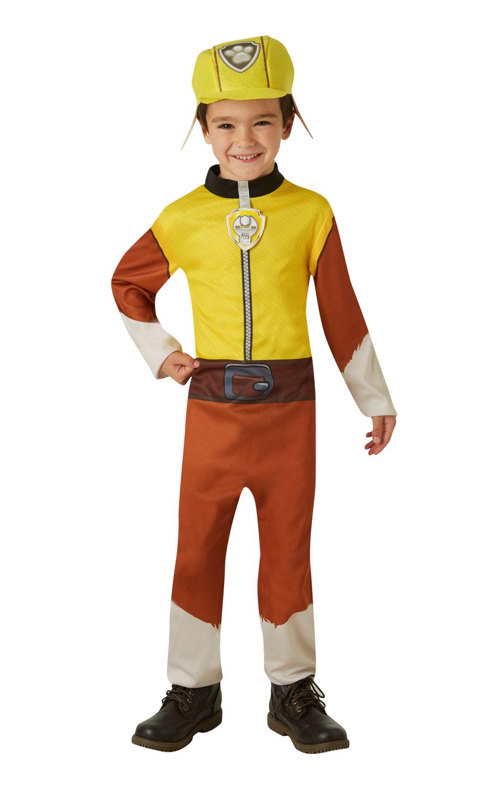 Rubies Detský kostým Tlapková hliadka - Rubble Veľkosť: S