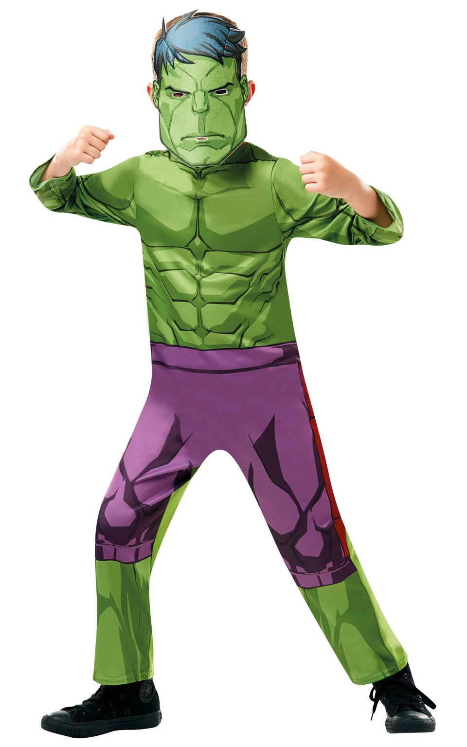Rubies Detský kostým Hulk Veľkosť - deti: S