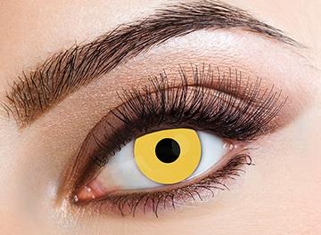 Eyecasions Šošovky Yellow svietiace