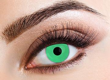 Eyecasions Šošovky Green svietiace
