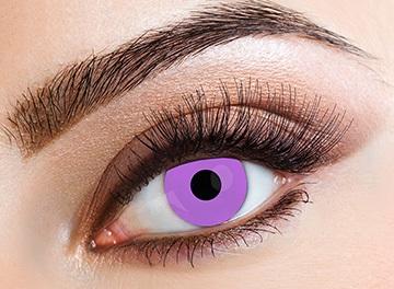 Eyecasions Šošovky Violet svietiace