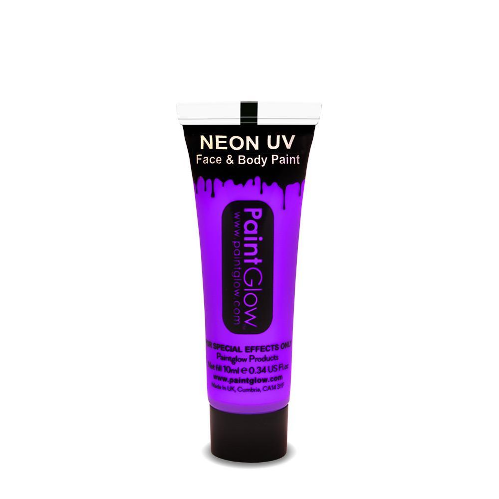 PGW UV farba na tvár a telo - intense Farba: Intense fialová