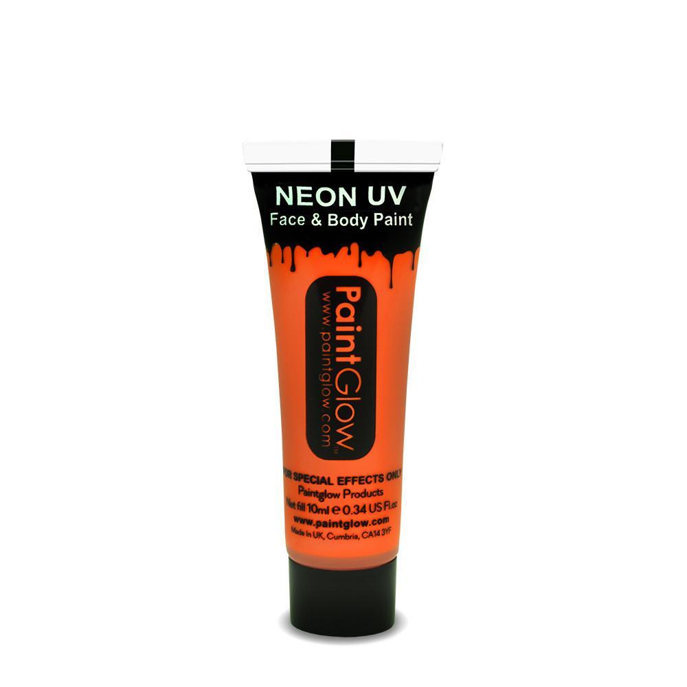 PGW UV farba na tvár a telo - intense Farba: Intenzívna oranžová