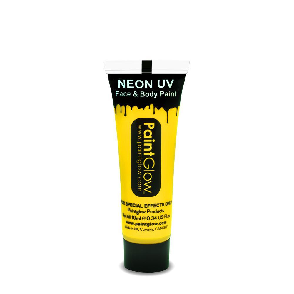 PGW UV farba na tvár a telo - intense Farba: Intenzívna žltá