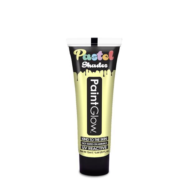 PGW UV farba na tvár a telo - intense rôzne farby Farba: Pastelová žltá
