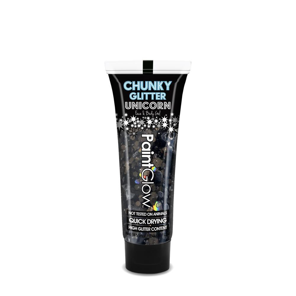 PGW Glitrový gel 13 ml rôzne farby Farba: Black Enchantress