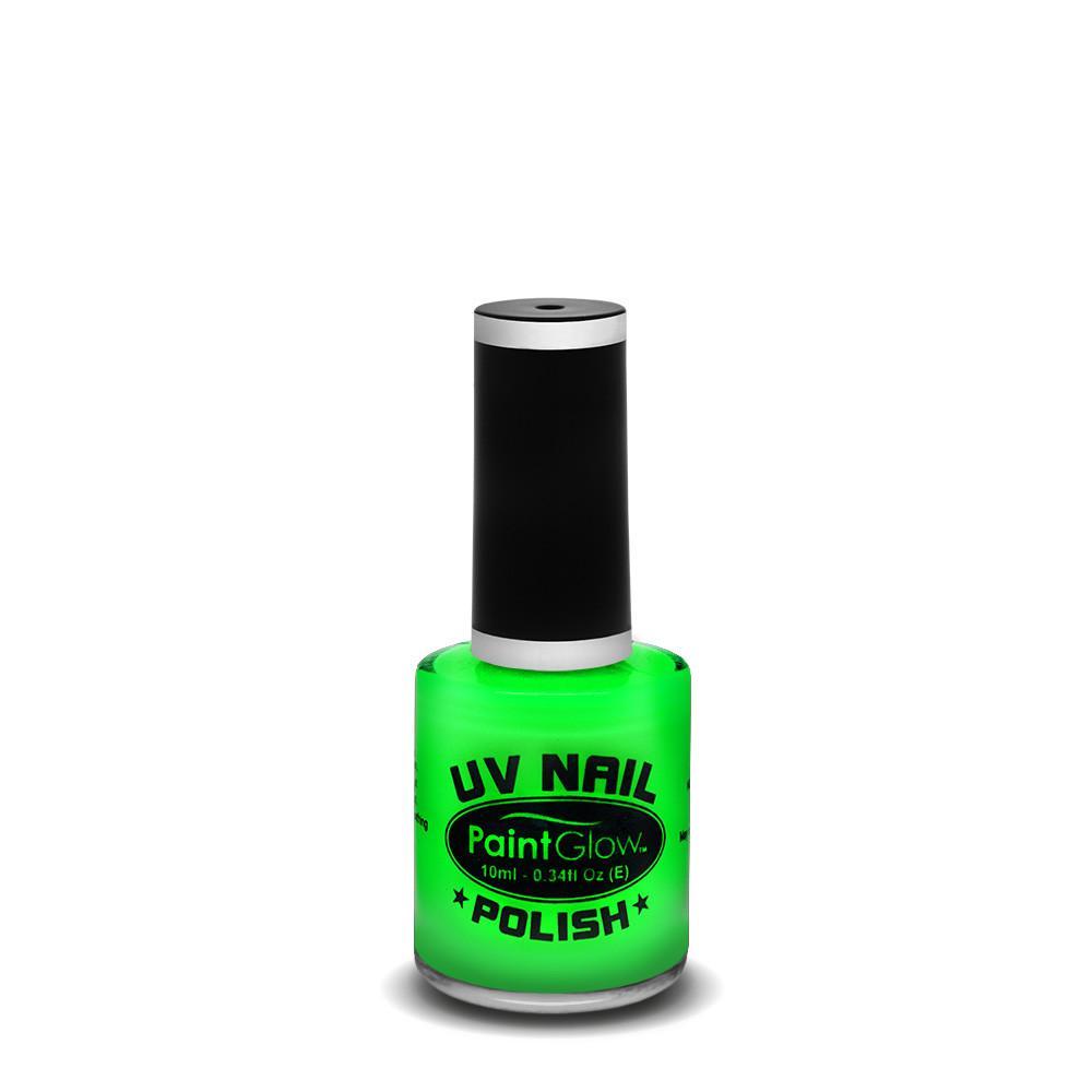 PGW Lak na nechty - UV efekt 12 ml rôzne farby Farba: UV zelená
